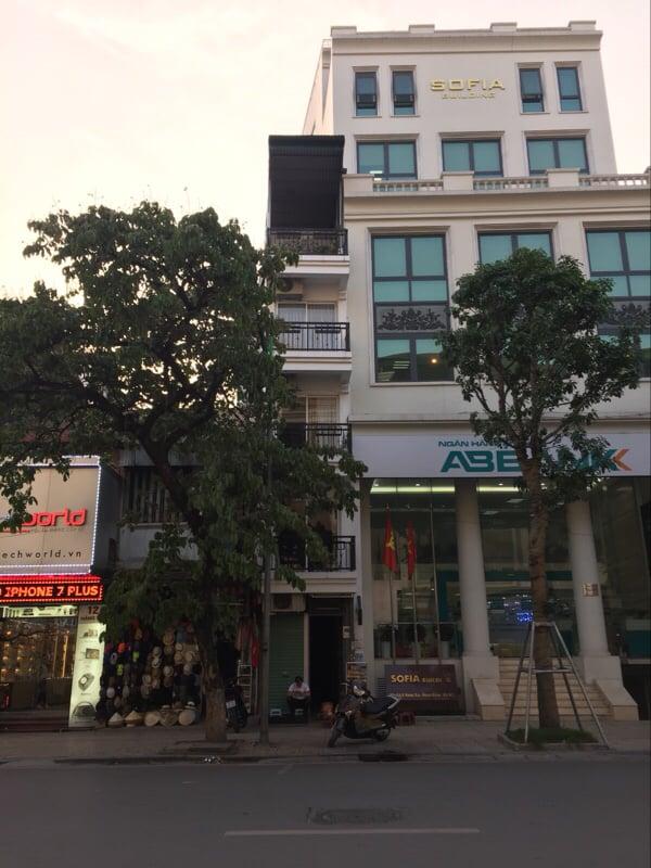 Căn nhà với mặt tiền chưa đầy 2 mét tại Hà Nội. (Ảnh: Minh Minh Trí Thức VN)