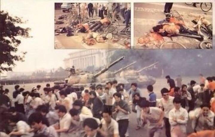 Cuộc thảm sát tại Quảng trường Thiên An môn 1989.