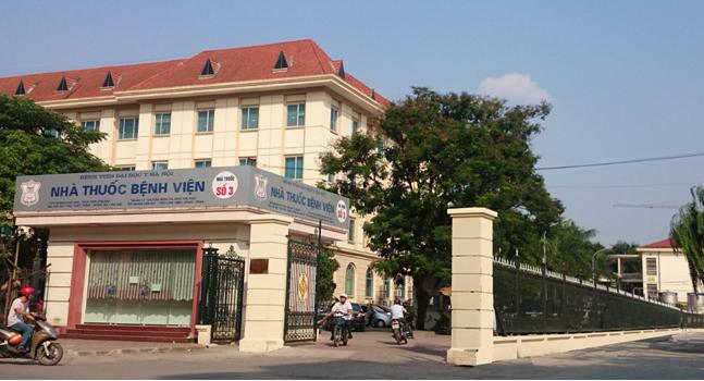 Sự việc xảy ra tại Bệnh viện Đại học Y Hà Nội, rạng sáng ngày 7/5. (Ảnh: hmu.edu.vn)