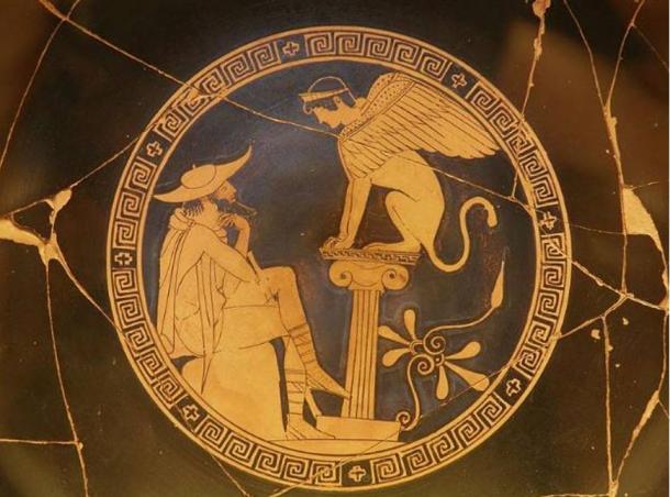 Oedipus và nhân sư thành Thebes (ảnh: (Marcus Cyron/ CC BY SA 2.0 )