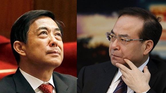 Ông Bạc Hy Lai (trái) và ông Tôn Chính Tài (phải)