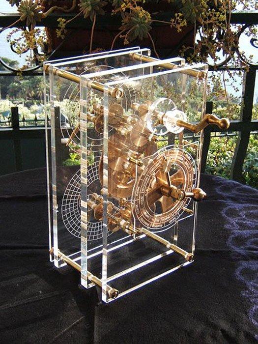 Các nhà nghiên cứu đã làm một mô hình chiếc máy tính này theo kiểu dáng của nó hàng nghìn năm về trước. (ảnh: Wiki)
