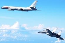 Máy bay Trung Quốc áp sát máy bay Mỹ trên biển Đông Hải