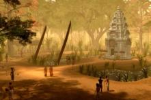 Ngắm khu đền Angkor Wat thời hoàng kim qua video đồ họa sống động