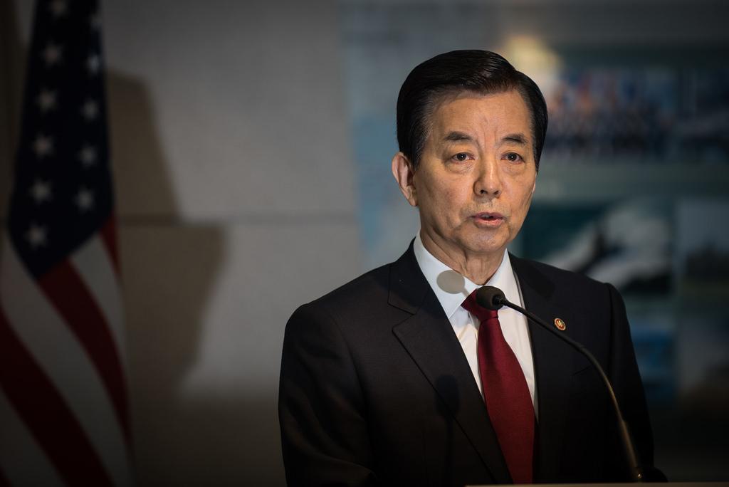 Bộ trưởng Quốc phòng Hàn Quốc Han Min Koo (Ảnh: wiki)