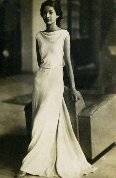 Nam Phương Hoàng hậu thời còn học ở Pháp. Ảnh dẫn từ phunuvietnam.vn