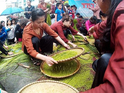 Nghề cổ đất Việt – Kỳ 3: Làng Vòng – Hương cốm gọi mùa thu về