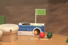Nhật Bản: Trò chơi sắp đặt Rube Goldberg, kèm theo cả cốt truyện (video)