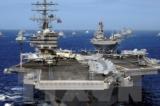 Mỹ điều tàu sân bay thứ 2 đến đến bán đảo Triều Tiên