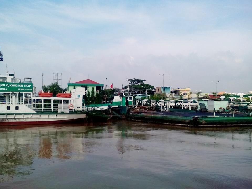 Phà Bình Khánh sẽ được thay thế bằng Cầu Cần Giờ. (Ảnh: FB Phạm Hoàng Long)