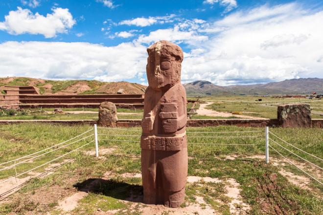 tuong da o tiwanaku