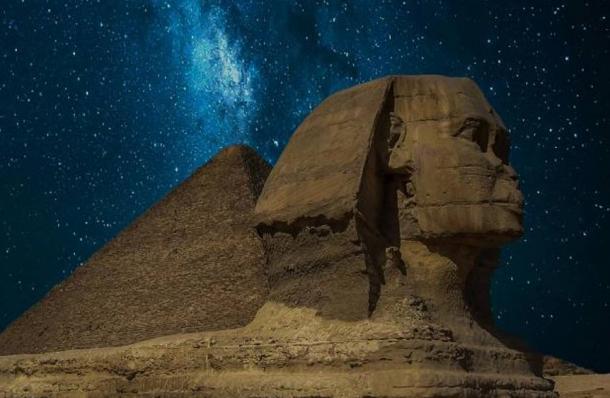 Tượng nhân sư xứ Giza (ảnh: Public Domain)