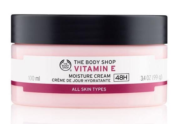 The body shop - Vitamin E moisture cream (Ảnh: thebodyshop)