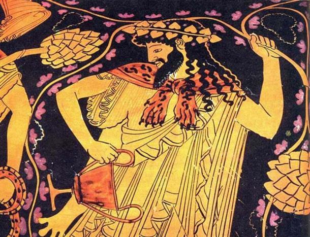 Thần Dionysus của Hy Lạp
