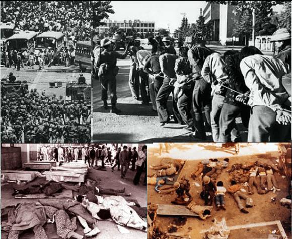 Phong trào dân chủ Gwangju cuộc nổi dậy của dân chúng ở thành phố Gwangju, Hàn Quốc từ 18 đến 27 tháng 5, năm 1980. 191 nạn nhân đã thiệt mạng do bị chính quyền trấn áp