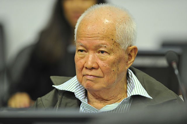 Khieu Samphan (Ảnh: Wikipedia)