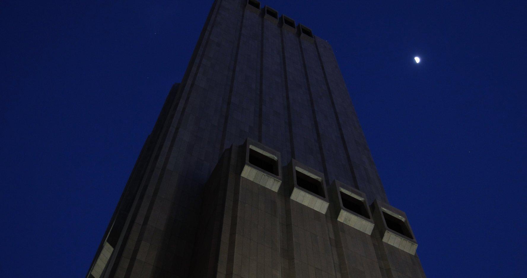Tòa nhà bí ẩn số 33 đường Thomas, Manhattan, New York.,