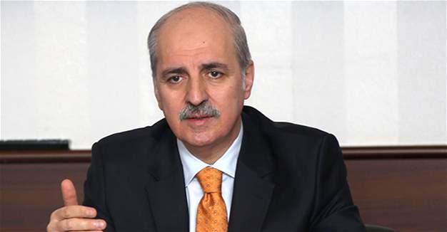 Phó thủ tưởng Numan Kurtulmuş (ảnh: AA)