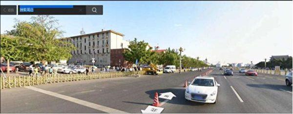 Nơi xảy ra các vụ bắn người ở phía Đông Nam quảng trường Thiên An Môn sáng ngày 4/6.
