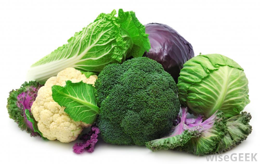 Bông cải xanh, bắp cải, súp lơ là những nguồn Sulforaphane dồi dào (ảnh: Wisegeek.org)