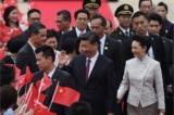 Tập Cận Bình tới Hồng Kông, Hoàng Chi Phong bị bắt