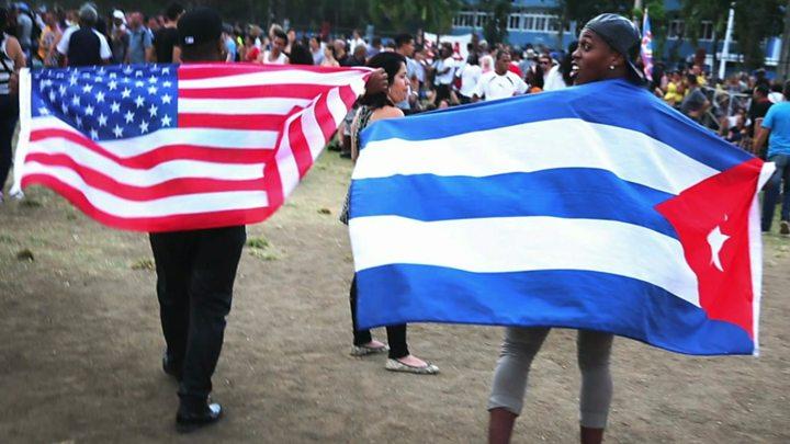 My han che thuong mai va di tru voi Cuba