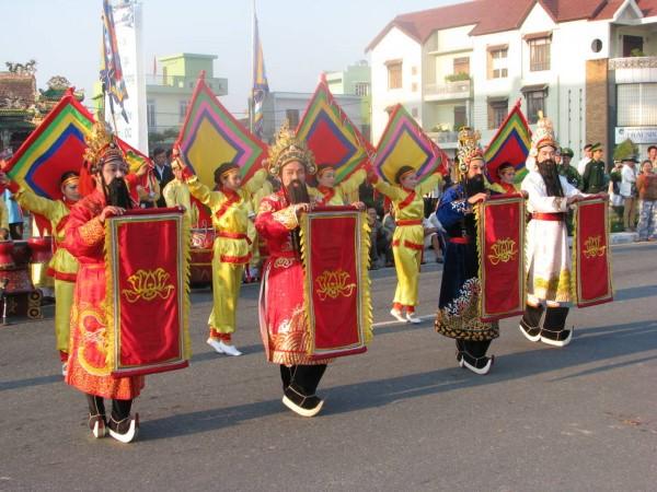 Lễ hội cầu Ngư. (Ảnh theo tourism.danang.vn)