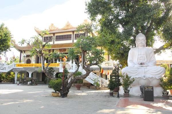 Chùa Phúc Lâm. (Ảnh theo danang.gov.vn)