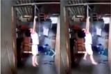Bé gái 5 tuổi bị mẹ nuôi treo lên xà nhà vì ăn trộm sữa