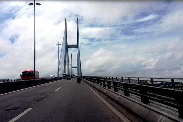 Cầu Mỹ Thuận (Tiền Giang). (Ảnh: Khánh Minh/TTVN)