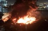 Cảng Sài Gòn cháy và nổ lớn trong đêm khuya