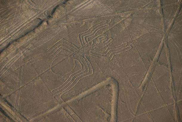 Hình con nhện trên cao nguyên Nazca (ảnh: funkz, Flickr/CC BY 2.0)