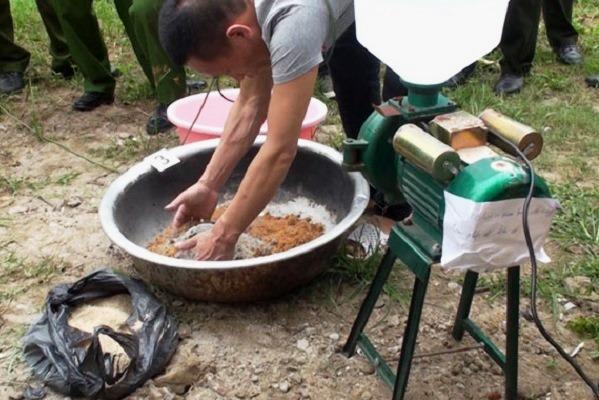 dieu tra duong day san xuat van chuyen hon 1 tan thuoc no