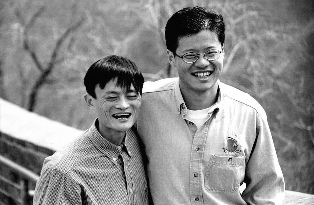 Jack Ma làm hướng dẫn viên cho Jerry Yang trong một lần du lịch Trung Quốc (ảnh: Heather Killen)