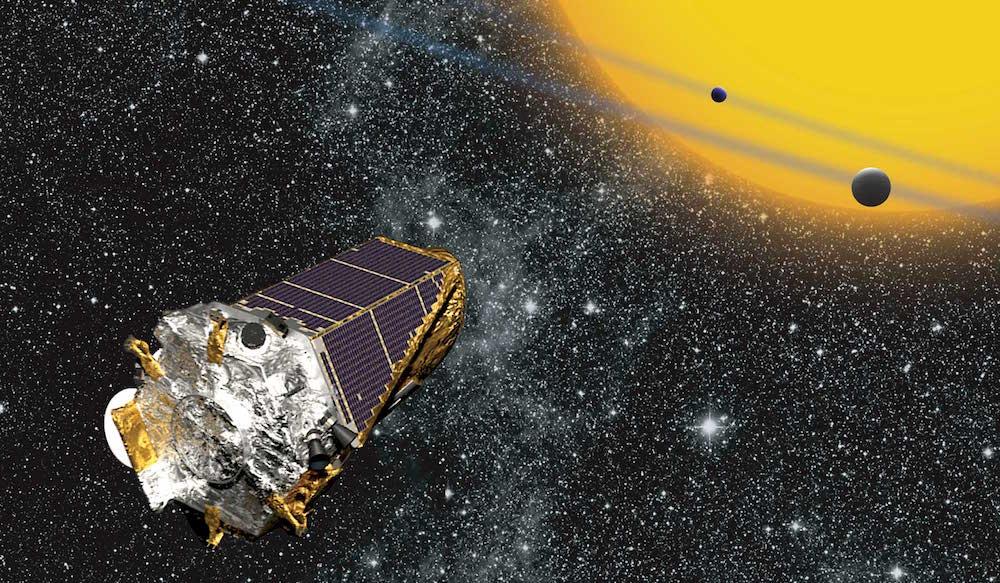Kính quan sát không gian Kepler. NASA vừa phát hiện thêm 10 hành tinh giống Trái Đất (ảnh: NASA)