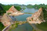 Khu vực núi đá bị phá ở vịnh Hạ Long: Trồng 1.000 cây keo hoàn nguyên môi trường