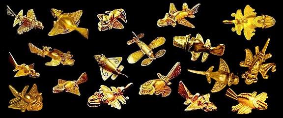 Bộ sưu tập các mô hình các sinh vật có cánh ở Columbia,