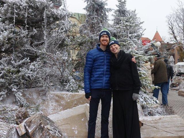 Mùa đông ở Zagreb, Croatia. (Ảnh: Joe và Ali Olson)