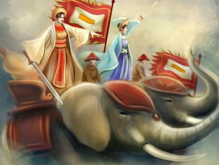 Những đội kỳ quân xuất hiện trong sử Việt
