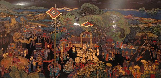 Nghề cổ Đất Việt – Kỳ 10: Tranh sơn mài