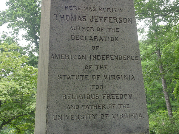Bia mo Thomas Jefferson
