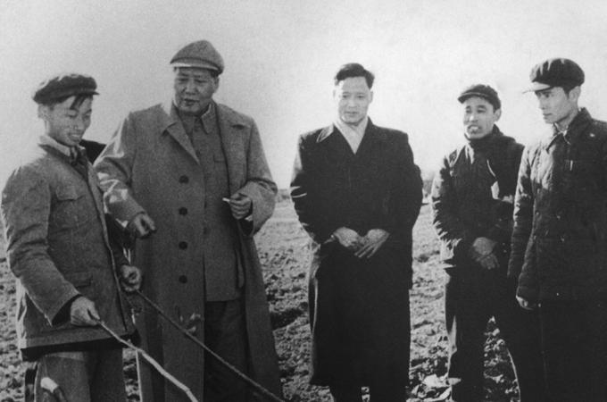 Những năm Đại nhảy vọt, Mao Trạch Đông đã đến thị sát khu vực nông thôn ở Chiết Giang