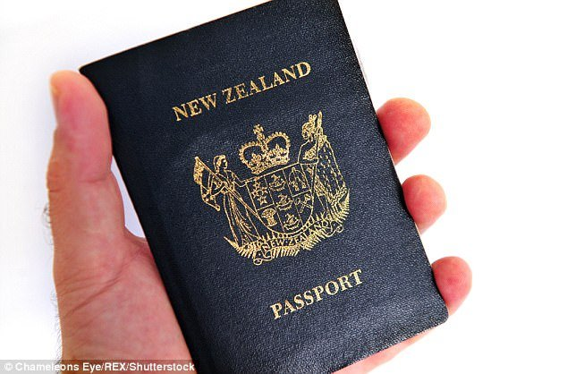 New Zealand tops the list for arrivals into Australia, and for departures out of the country (stock image)