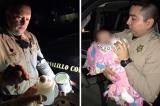 Ông bố say rượu lái xe chở 3 con gặp được 2 viên cảnh sát cứng rắn nhưng dịu dàng