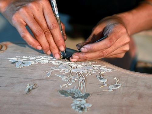Nghề cổ Đất Việt – Kỳ 11: Khảm Sà Cừ – Lấp lánh sắc màu tự nhiên
