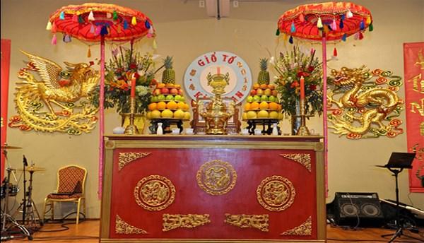 Nhà thờ tổ Kim hoàn. (Ảnh theo netvietvtc10.com)