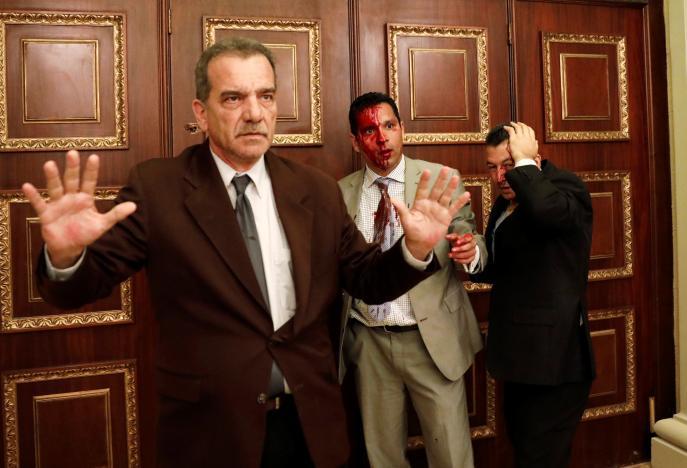 Các nhà lập pháp Venezuela bị tấn công vào sáng thứ Tư (5/7) ngay bên trong tòa nhà Quốc hội