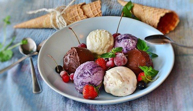 ăn kem, kem