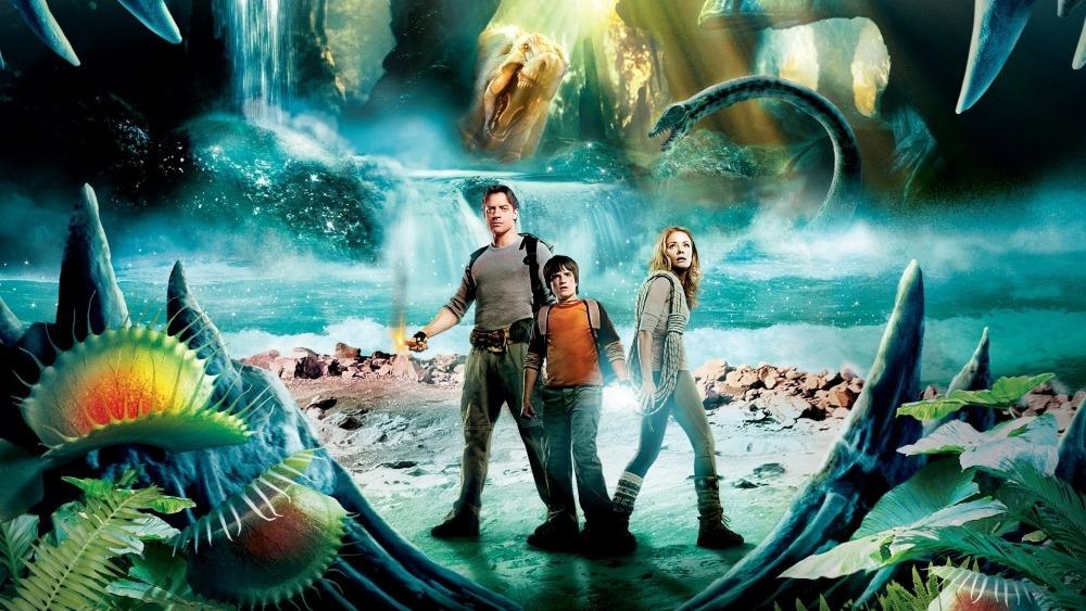 Một cảnh quay trong bộ phim Journey to the Centre of the Earth (Hành trình vào trung tâm Trái Đất) chuyển thể theo tiểu thuyết cùng tên của nhà văn Jules Verne. (Ảnh chụp/YouTube)