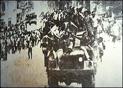 Khơ-me Đỏ đang tiến vào Phnom Penh